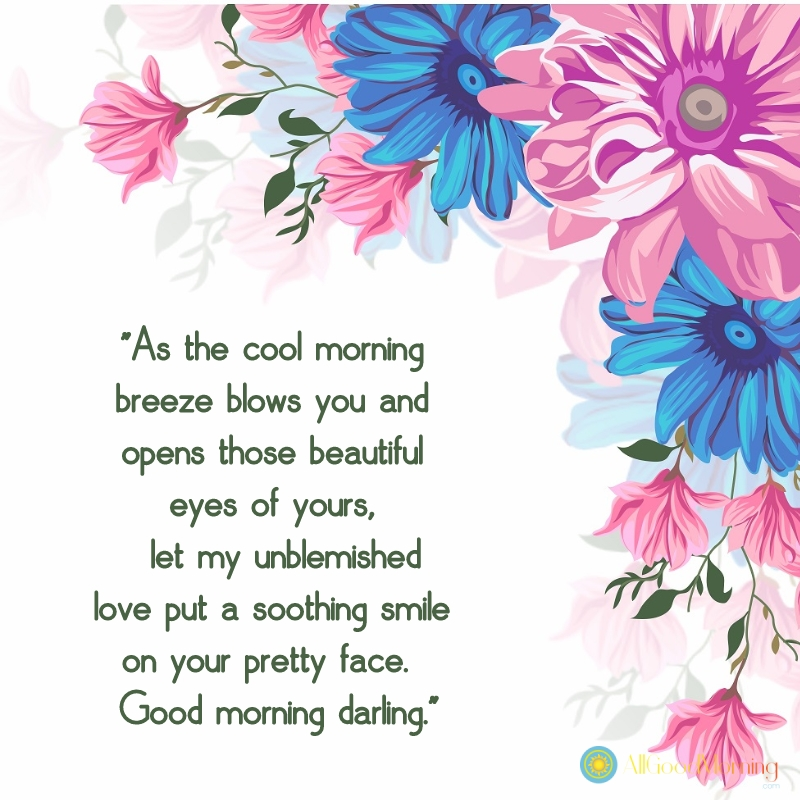 flirty good morning texts for her english