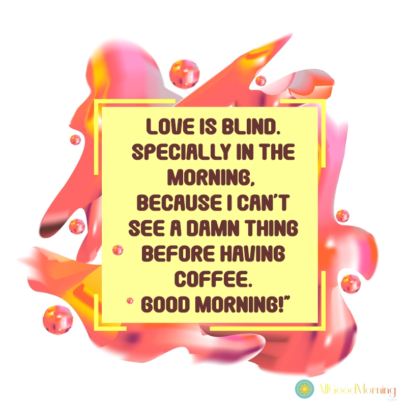 good morning messages for him in english