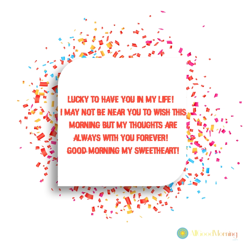 good morning messages for him images