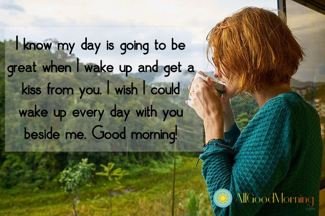 good morning messages for her quotes