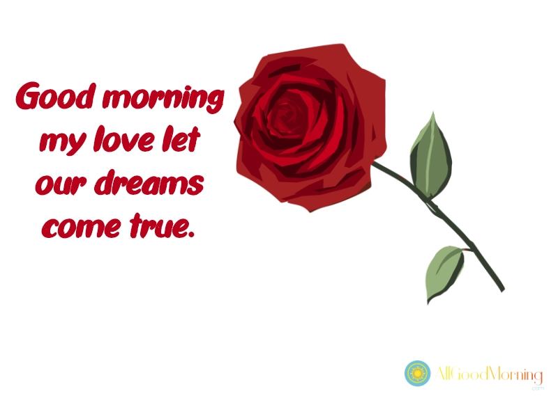 good morning text for her my love