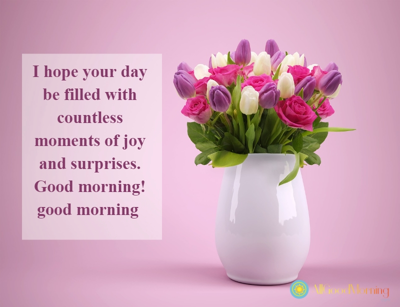 good morning sms to my love
