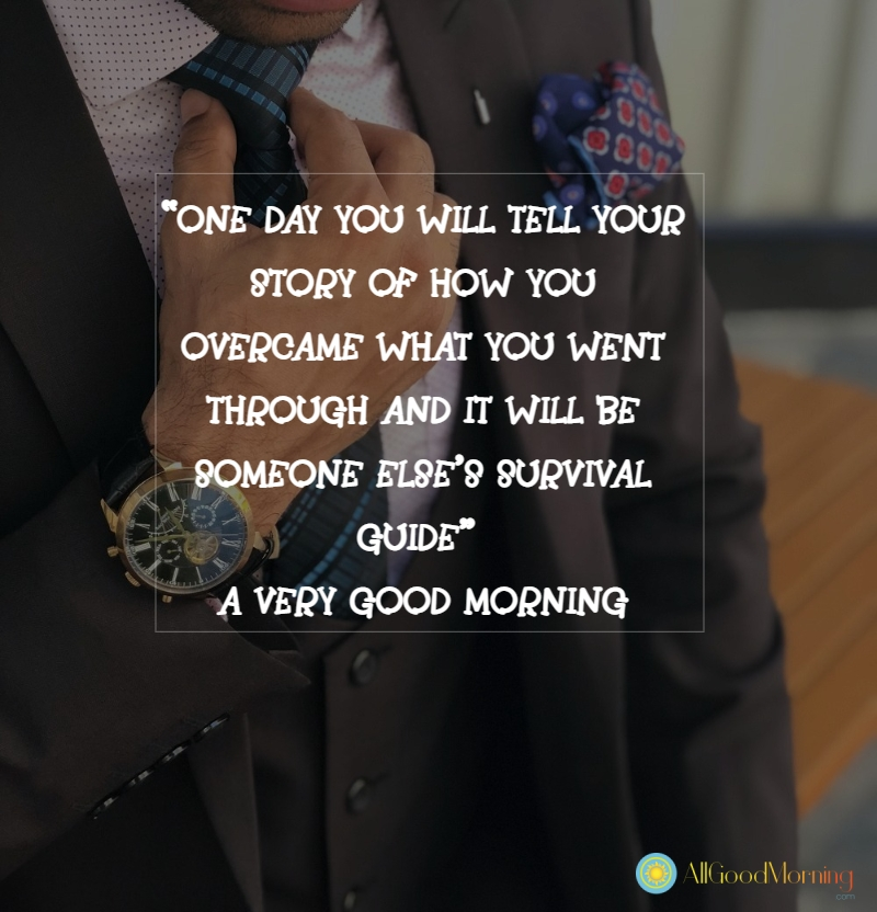 good morning inspirational quotes in english