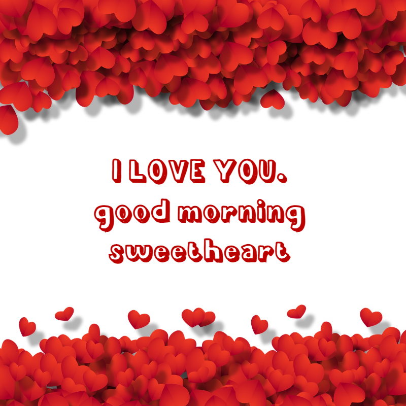 good morning text message to my love