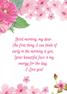 good morning godly messages for her