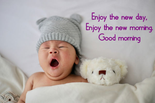 good morning photos of cute babies