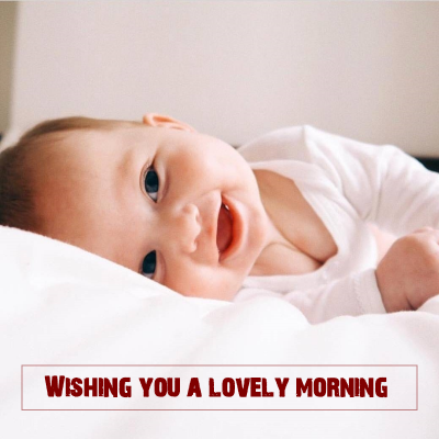 good morning images for cute babies