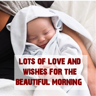 cute babies images with good morning