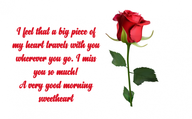 l miss you good morning