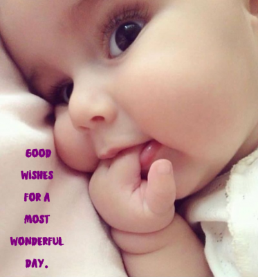 good morning photos with cute babies