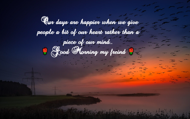 happy good morning quotes with images