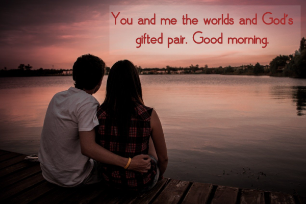 good morning text for her new girlfriend