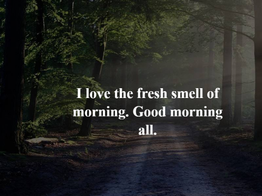 good morning messages for him quotes