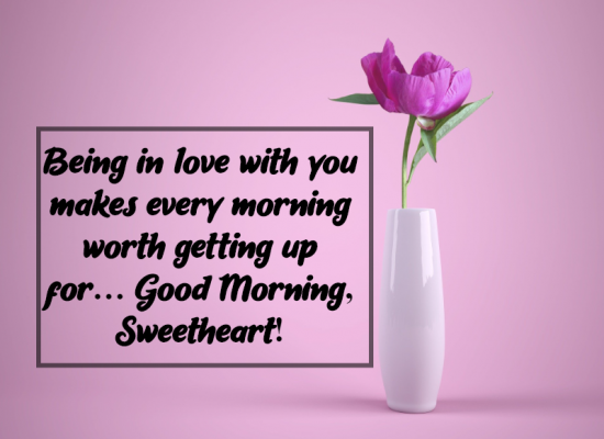 good morning quotes for him love