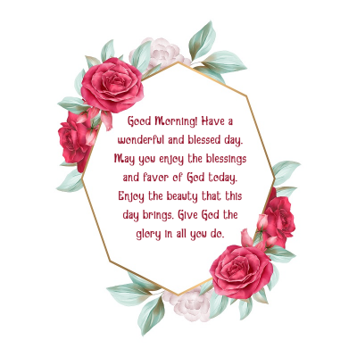 good morning msg for love one