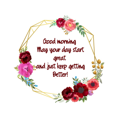 good morning msg for gf in english